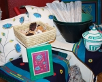 baskets and place mats